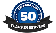 Celebrating 50 Years in Service