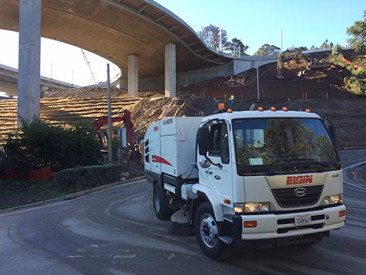 Power Sweeping Services in Northern California
