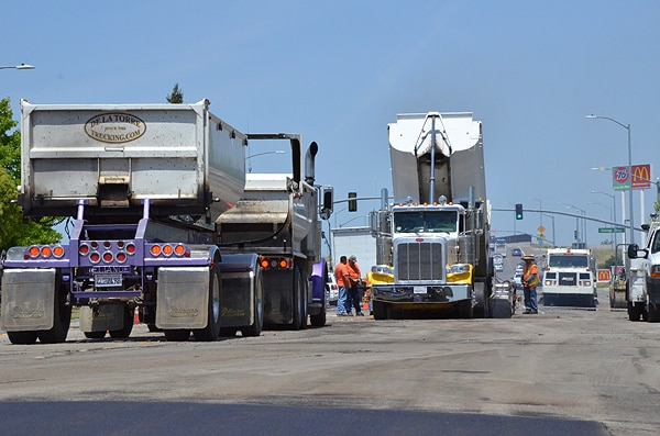 Pavement Grinding & Milling Sweeping Services