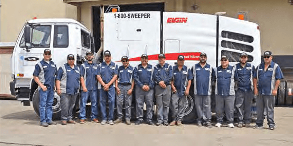 Local Sweeper Company gets Major Recognition