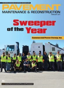 NPE Sweeper of the Year 2017 - Commercial Power Sweep, Inc.