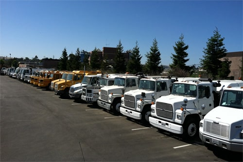 CPS Sweeper Truck Fleet