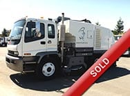 CPS Sweeper Truck Sales - Sold